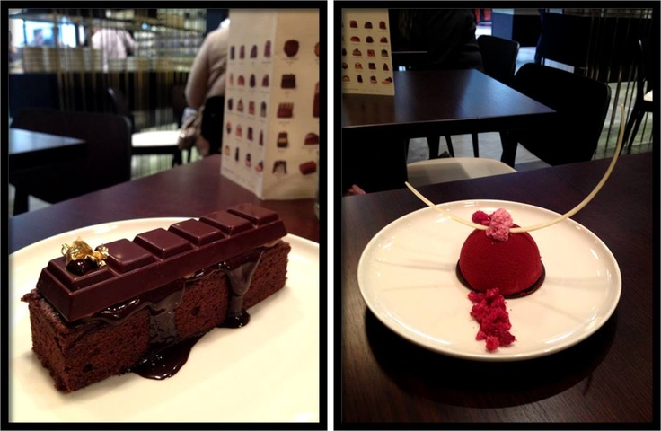 We have launched our new Winter Menu!  Delight in our Chocolate Alchemy Cake - our signature chocolate cake layered with chocolate creme and crunchy chocolate soil or our Raspberry Chocolate Dome - milk chocolate and raspberry puree mousse with vanilla cream and a liquid raspberry centre.