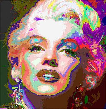 Samuel Majcen - Marilyn Monroe 01 - Abstarct