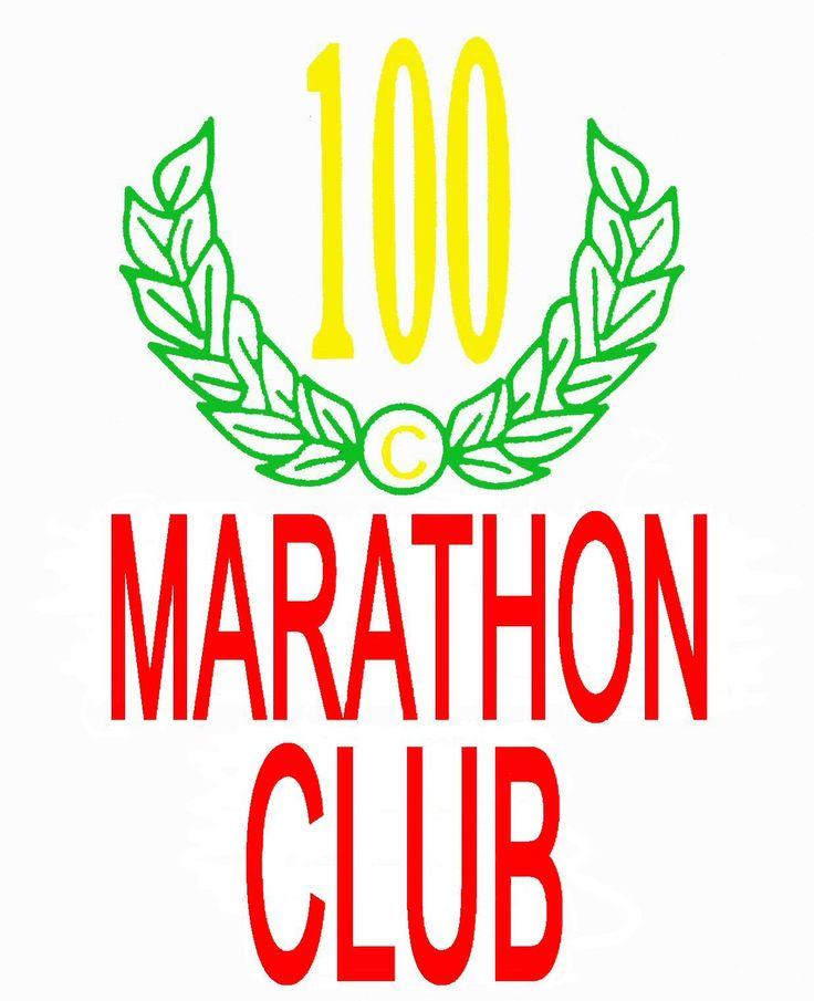 100 marathon club logo - Google Search
