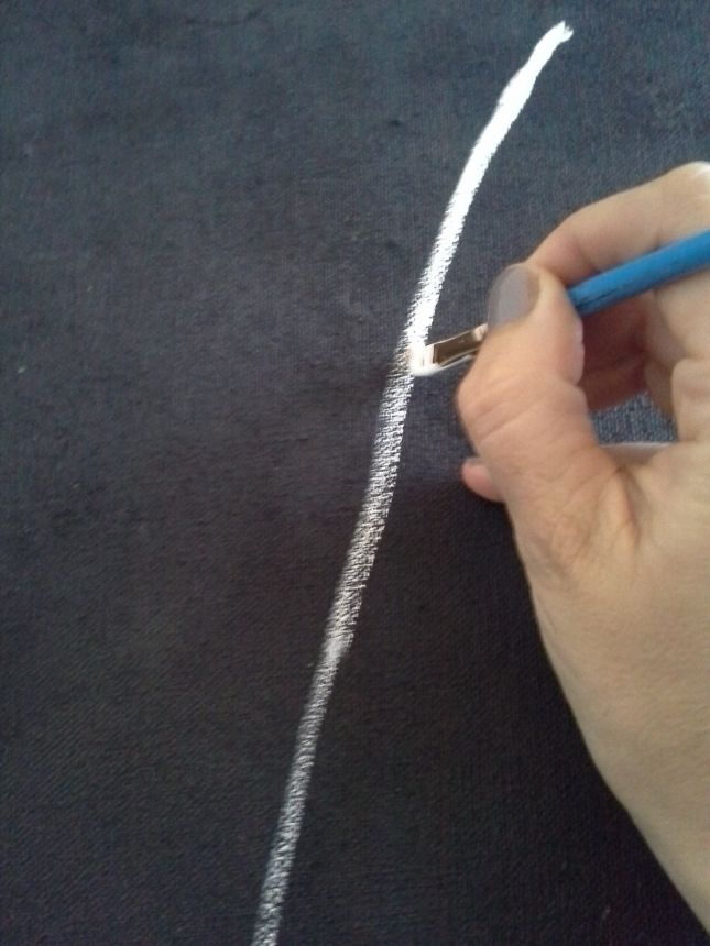 Best 25 dandelion painting ideas on pinterest for Diy canvas art black and white
