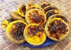 Португальские пирожные Паштейш (Pasteis) с заварным кремом без яиц. Вкуснейший десерт из Португалии!