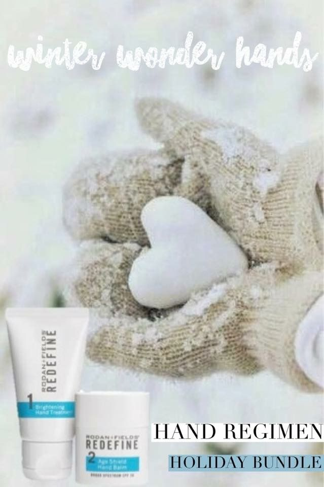 Day 2 of the 12 days of Christmas!  Rodan + Fields Redefine Hand Treatment is a must have for the winter months. Our skin gets so dry and hands tell it all. The REDEFINE Hand Treatment regimen visibly brightens, diminishes visible redness, and reduces the appearance of brown spots, wrinkles and thin, crepey skin! $63 and would make an excellent gift for your mom, sister, or grandmother! Definitely a must have as a healthcare professional that washes her hands a hundred times a day!