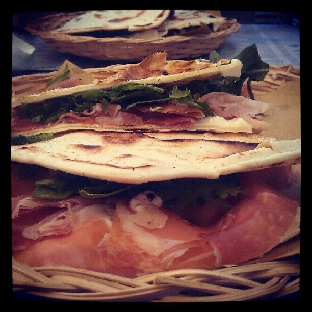 First Piadina. Definitely not the last - Instagram by @FourJandals.com Adventure Travel Blog.com Adventure Travel Blog