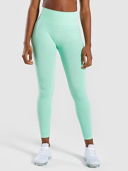 69796759ad83a Solid Athletic High Waisted Leggings in 2019 | Flaunt | Leggings ...