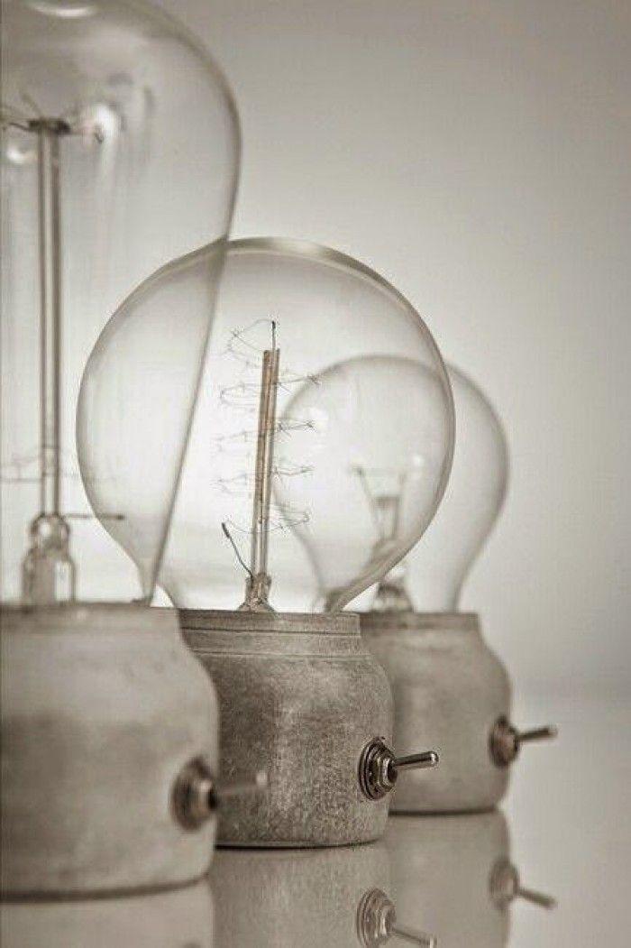 Industrieel interieur - beton lamp - industriele lampen - industrieel verlichting