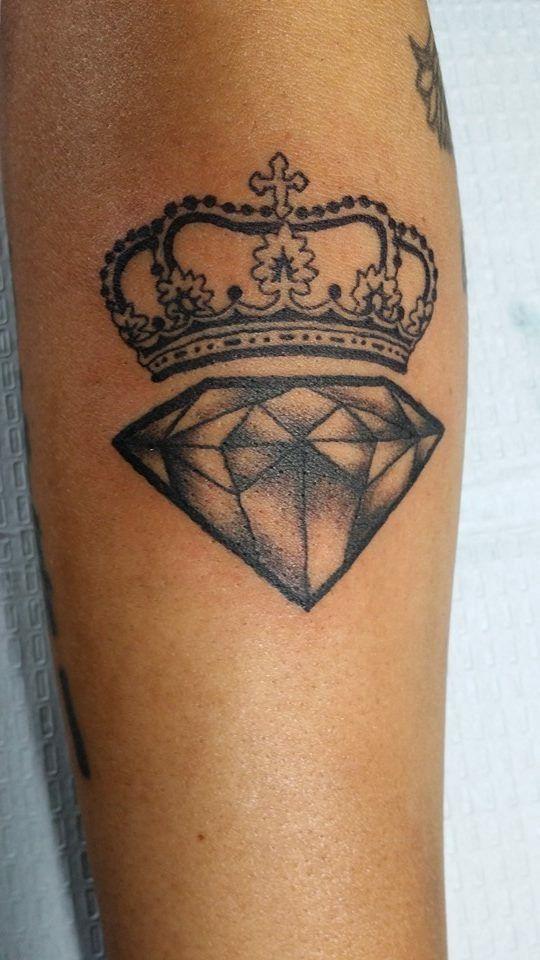 52 best Diamond Tattoos for Men images on Pinterest