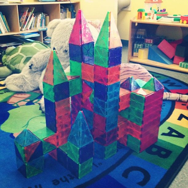 1000 images about magna tiles castles on pinterest