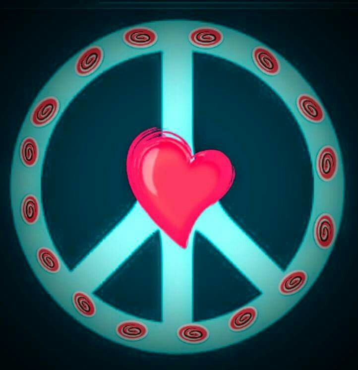 373 Best Peace S Of Me Images On Pinterest Peace Signs Hippie Peace Sign With Color On Inside
