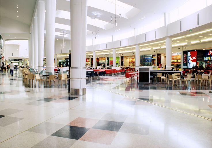 Signorino terrazzo tiles featured in Victoria Gardens Shopping Centre  #terrazzo  #naturalstone #quartz #interiordesign #architecture