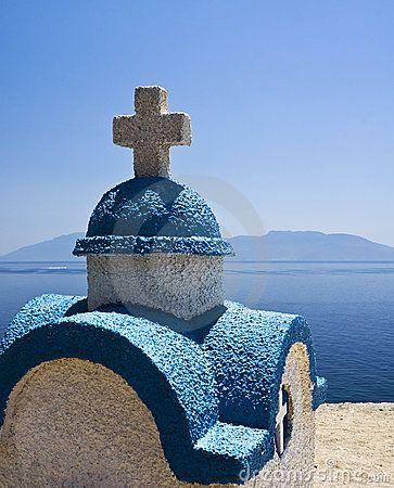 Church rooftop Kos, #Greece