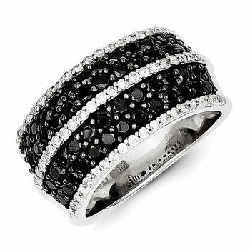 black engagement rings for women 12 - Black Wedding Rings For Women