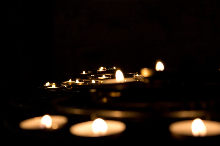 Candles by Marcelo Alves, via 500px  dark and light