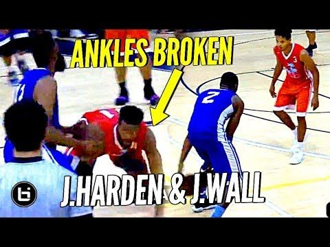 Tonight things heated up in Miami as James Harden and John Wall teamed up to play a game in the Miami Pro League.  The duo's team lost the game but all the highlights belonged to two of the NBA's best players.  Watch as these two All-Stars got loose in South...