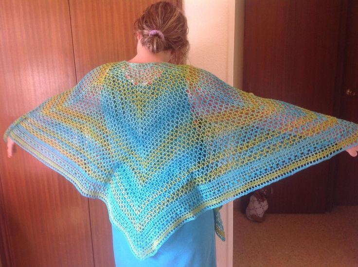 Summer nights shawl by Amanda Smith