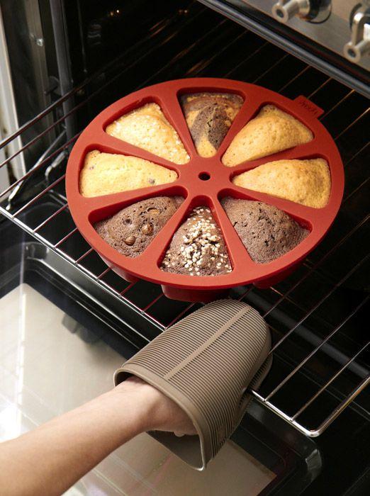 Forma do ciasta w porcjach - Lekue, dowiedz się więcej na FabrykaForm.pl