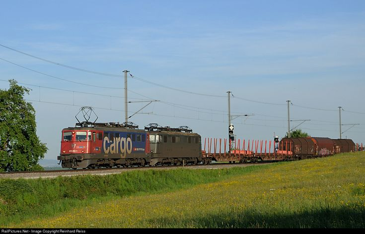 RailPictures.Net Photo: 610 492 SBB CARGO Ae 6/6 at Lottstetten, Germany by Reinhard Reiss