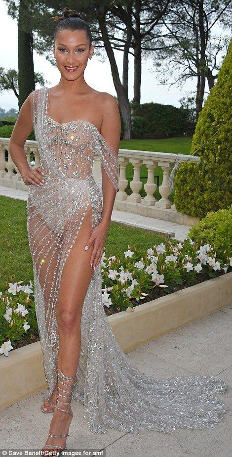 Bella Hadid suffers yet ANOTHER racy wardrobe malfunction