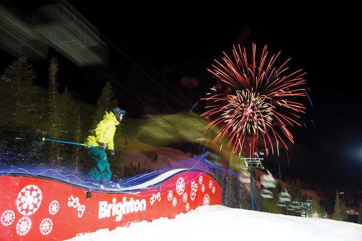 Brighton, UT ranked #30 in Ski Magazine's Best Ski Resorts in the West