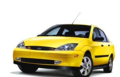 Ford Focus Yellow