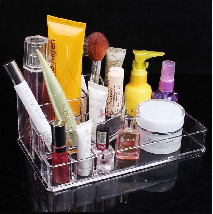 Porta maquiagem de acrílico, Frete grátis