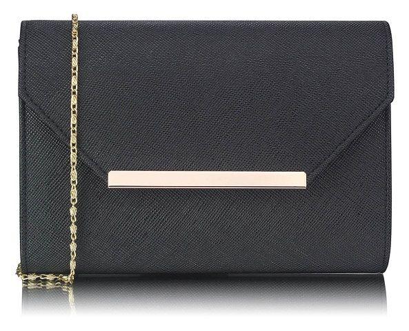 LS Bags psaníčko Supermodel, černé