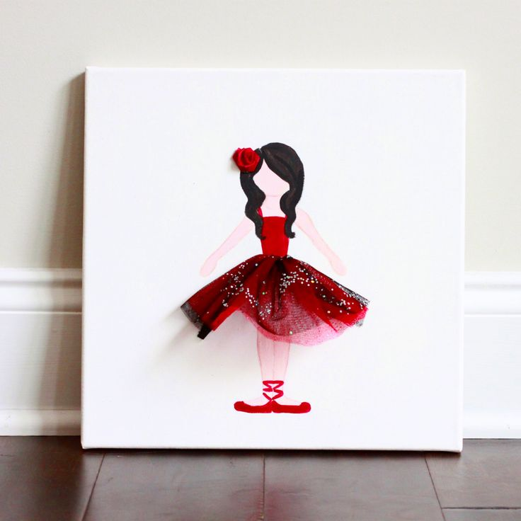 Spanish Dancer, Ballerina Art, ballerina decor, Hispanic Ballerina, Baby Shower, baby nursery wall art, nursery decor, ballerina bedroom by LetsPretendArt on Etsy