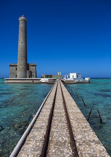 Lighthouse At Sanganeb Reef, Port Sudan, Sudan