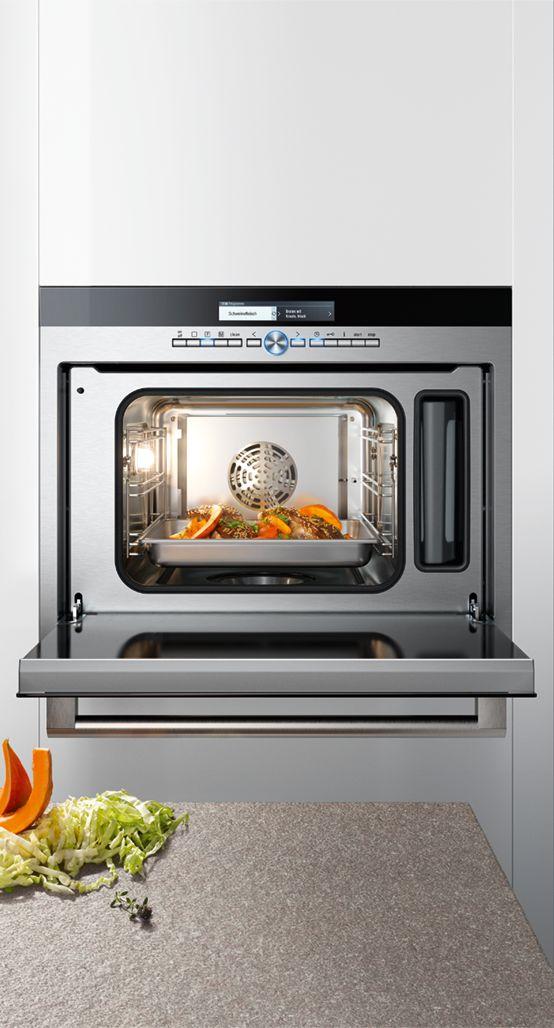 The #Siemens #iQ700 #studioLine steamer innovatively combines steaming and hot air. Additionally it is up to 20% more efficient than the boundary level of energy level A. // Der #Siemens #iQ700 #studioLine Dampfgarer verbindet Dämpfen und Heißluft innovativ. Zusätzlich ist das Gerät bis zu 20 % effizienter als der Grenzwert zur Energieeffizienzklasse A. #kitchen #cooking #enjoysiemens