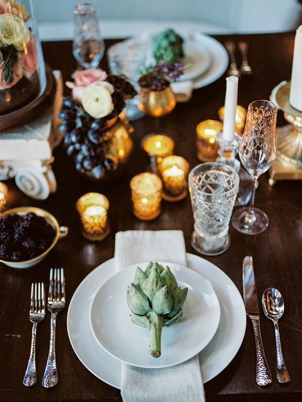 Romantic loft wedding inspiration | Alexandra Elisey Photography on @glamourandgrace via @aislesociety