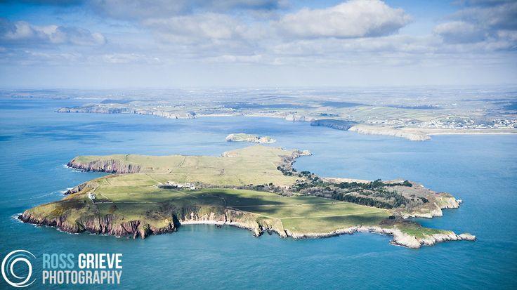 Caldey Island Pembrokeshire