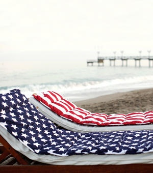 for the beach: Beach Chairs, Beach Home, Beach Wear, Beach Mats, Beach Patriotic, American Flag, Blue Stars
