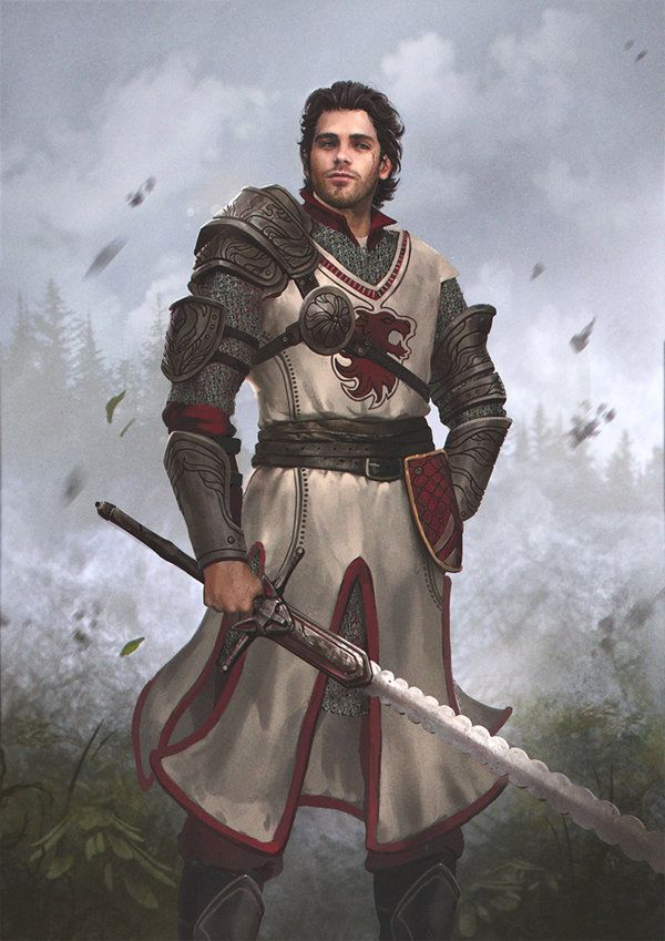 noble warrior, swordman, espadachin, royal blood, rpg, dnd, D&D, Ailfir von Donnerbach by GerryArthur.deviantart.com on @DeviantArt