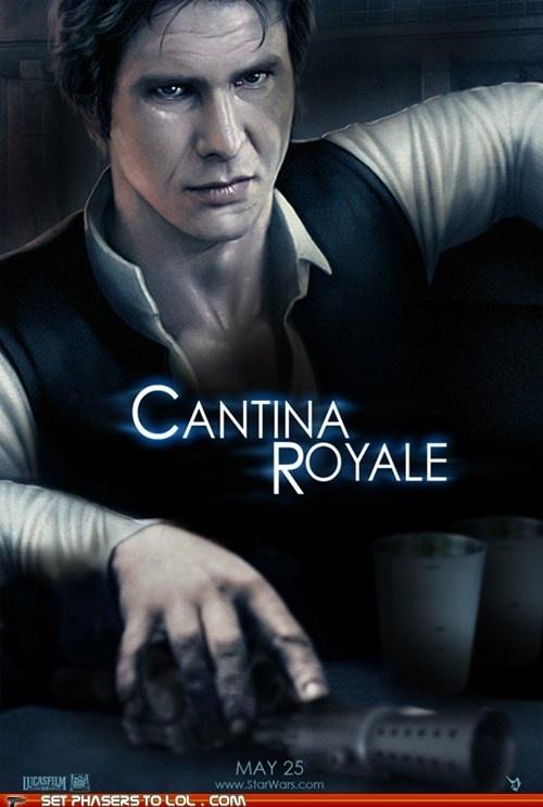 Cantina Royale: Geek, Time Ago, Cantina Royale, Stuff, Movies, Star Wars, Han Solo, Mashup, Starwars