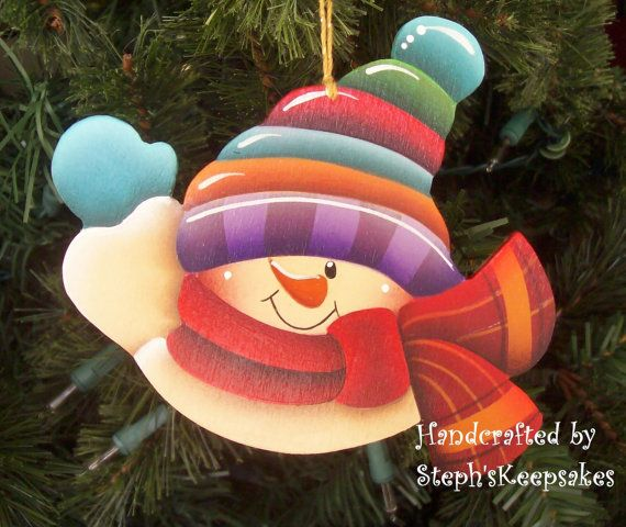 Wooden+Hand+Painted+Ornament+by+stephskeepsakes+on+Etsy,+$7.25