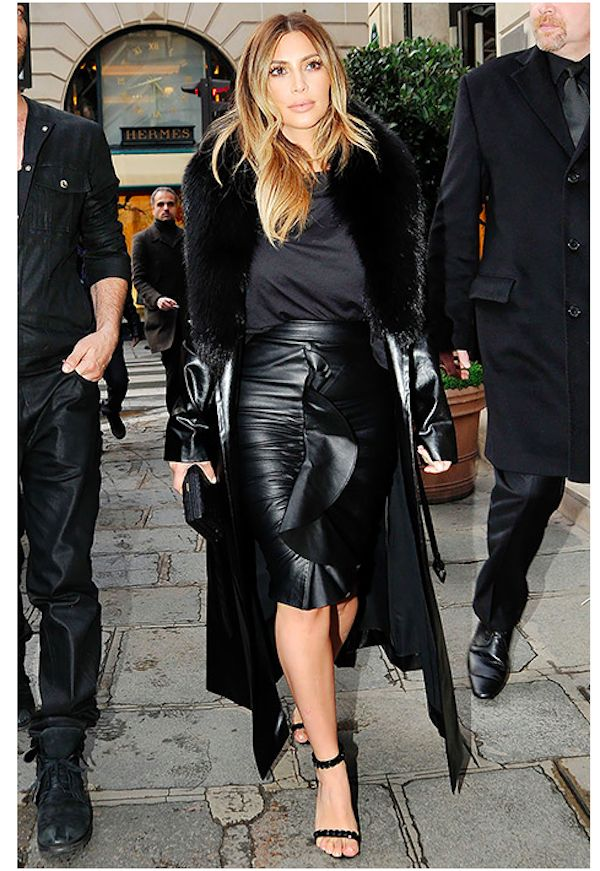 Black dress kim kardashian ugly