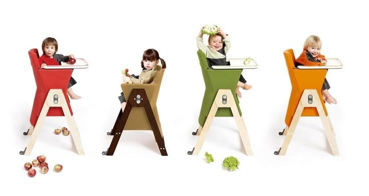 Chaise haute Hilo de Age Design.
