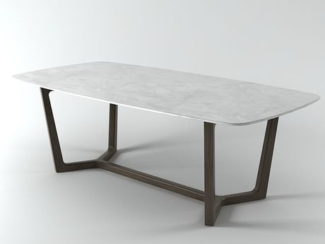 Poliform Concorde table 3d model | Emmanuel Gallina