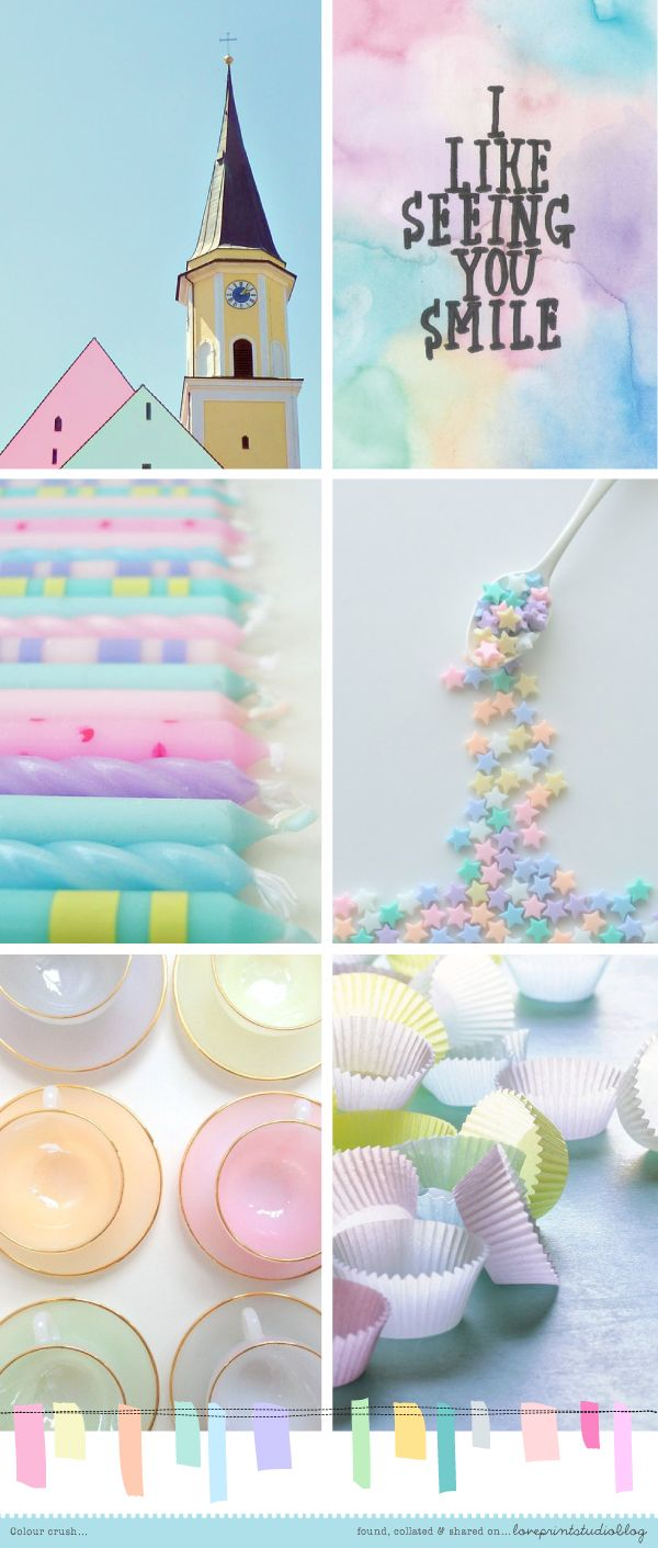 82 best Pastels images on Pinterest | Color palettes, Kitchen and ...