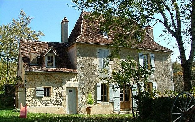 Property in France - restored 19th century stone house