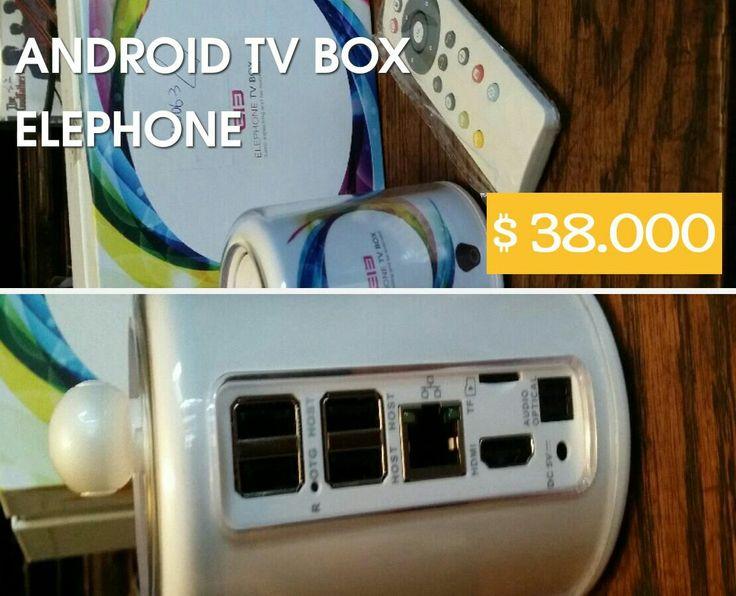 Este es un android tv Box para convertir tu tv lcd Led o plasma que tenga entrada HDMI en un smart tv con todas las características de android. procesador de 4 nucleos, 1gb de ram,8gb internos y cámara IP integrada