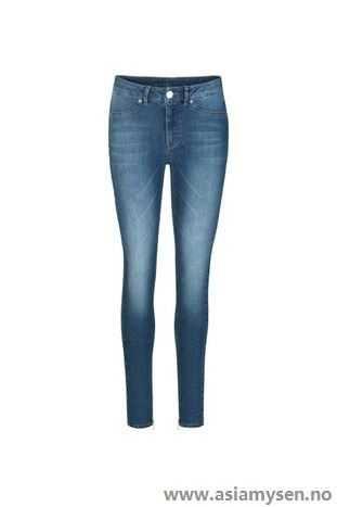 Kjøp nå 2ND DAY Blå Jeans Jolie Washed Stretch XB32RC3792 - Kvinner Klær