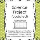 During the year my students enjoy becoming scientists and work through the Scientific Method by completing their own experiment, display board, and...