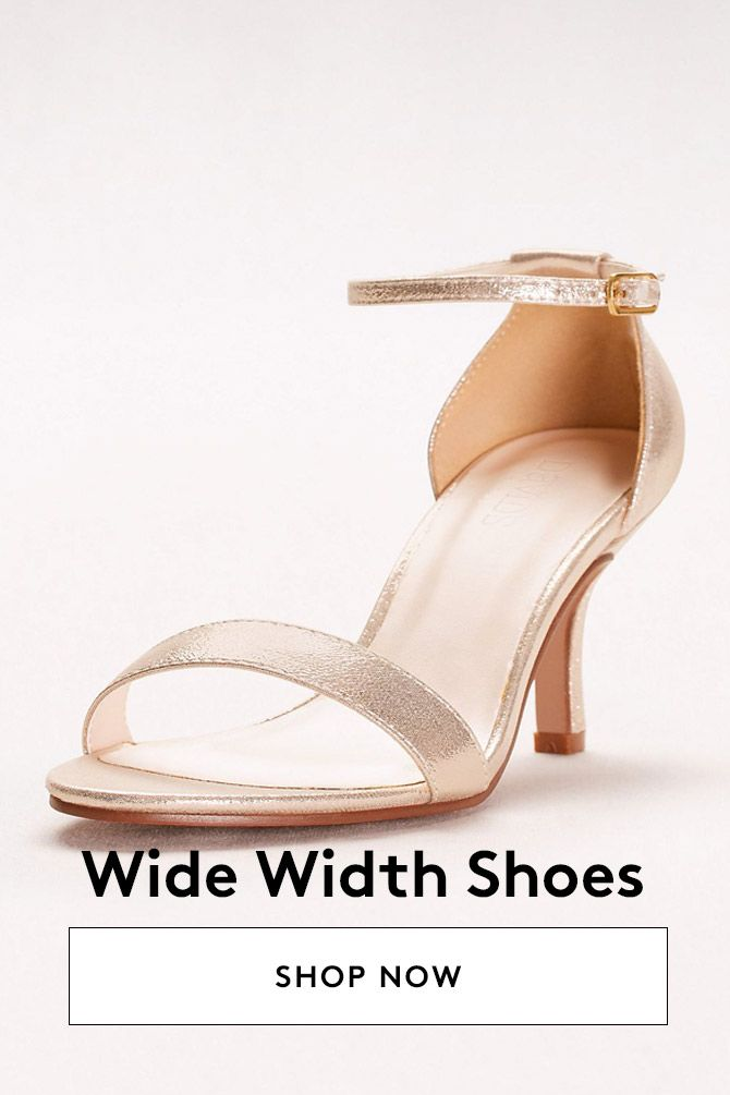 Wide Width Shoes Wide Width Wedding Shoes Mother Of The Bride Shoes Dress And Heels