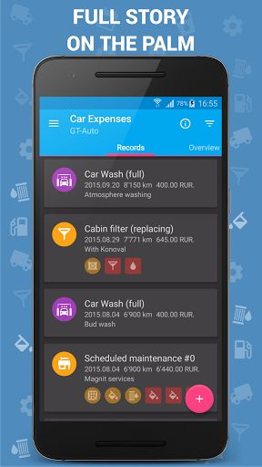 Car Expenses Pro (Manager) v27.00 [Paid]   Car Expenses Pro (Manager) v27.00 [Paid] Requirements:4.1 Overview:Calculation of expenses (7 categories and more than 60templates).  Features  Calculation of expenses (7 categories and more than 60templates)  Planning service actions  Calculation of fuel consumption  All statistics not only in numbers but also in handycharts Calculatoroverrun / needed fuel / way cost  Synchronization with clouds and between devices (using Dropbox API &Google Drive)  Recording several vehicles  Export / import data  Select theme  Wide settings units and interface elements  Widgets to quickly add records  No ads. Absolutely.  The better the other  Calculation of fuel consumption is universal (to the full the lamp low residue ...)  Prediction of remaining fuel at the moment  Create report on service activities (important for resale)  WHAT'S NEW   New units for electric vehicles and vehicles with methane.  Sorting of events.  Quick addition of fuel type when adding fueling record.  15 new icons forpatternsand spending.  Storing of the position in the lists of records and cards. x Fix of the monthly mileage card. x Multiple edits and improvements.  This app has no advertisements  More Info:  http://ift.tt/2oyybDc  DownloadInstructions:  http://ift.tt/2D9KsGt http://ift.tt/2B0Ueoq  Apps