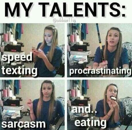 My talents