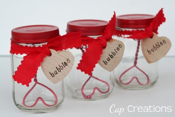 Adorable DIY Valentine Bubbles