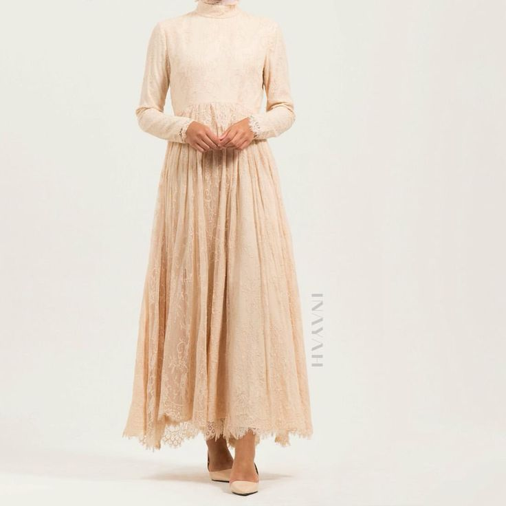 The Stunning and Elegant Ammara #Lace #Evening #Gown  - www.inayah.co