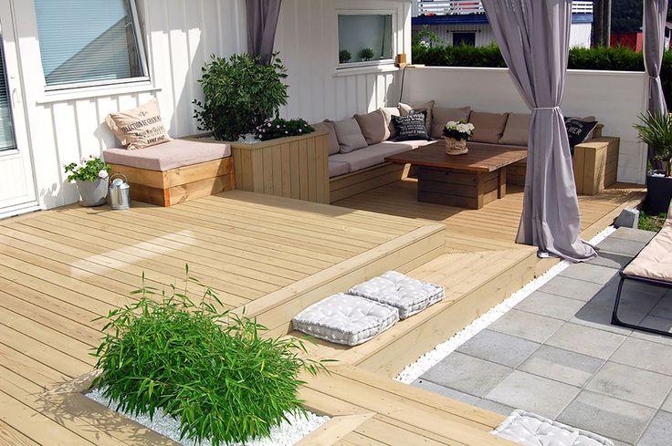 Scandinavian terrace