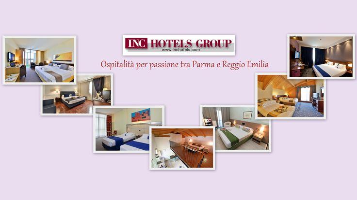 Tra Parma e Reggio Emilia... Ospitalità per passione!  www.inchotels.com