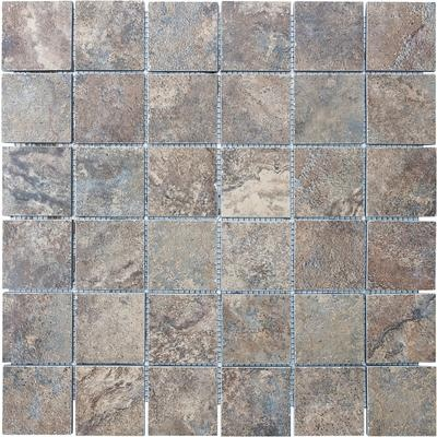 Enigma - Etrusca Cotto Mosaics Tile - 2 Inches x 2 Inches - 12-321 - Home Depot Canada